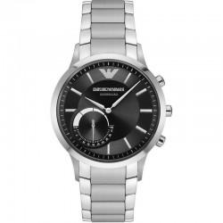 Acheter Montre Homme Emporio Armani Connected Renato ART3000 Hybrid Smartwatch