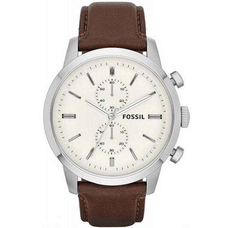 Fossil Chronograph Townsman Montre Homme avec Bracelet Acier inoxydable FS4784