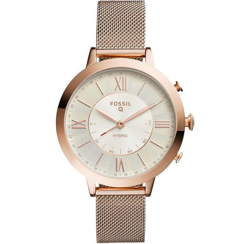 Femme Ftw5018 Jacqueline Montre Hybrid Smartwatch Q Fossil Yv76yIgbf