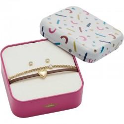 Acheter Bracelet + Boucles d'Oreilles Femme Fossil Vintage Motifs JF03050710