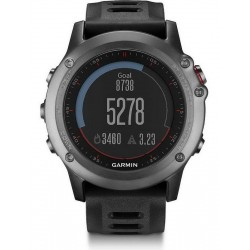 Acheter Montre Homme Garmin Fēnix 3 010-01338-01 GPS Smartwatch Multisport