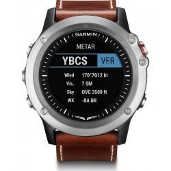 Montre Homme Garmin 010-01338-30 D2 Bravo Sapphire Aviation GPS Smartwatch Multisport