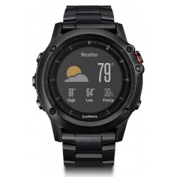 Montre Homme Garmin Fēnix 3 HR Sapphire 010-01338-7D GPS Smartwatch Multisport