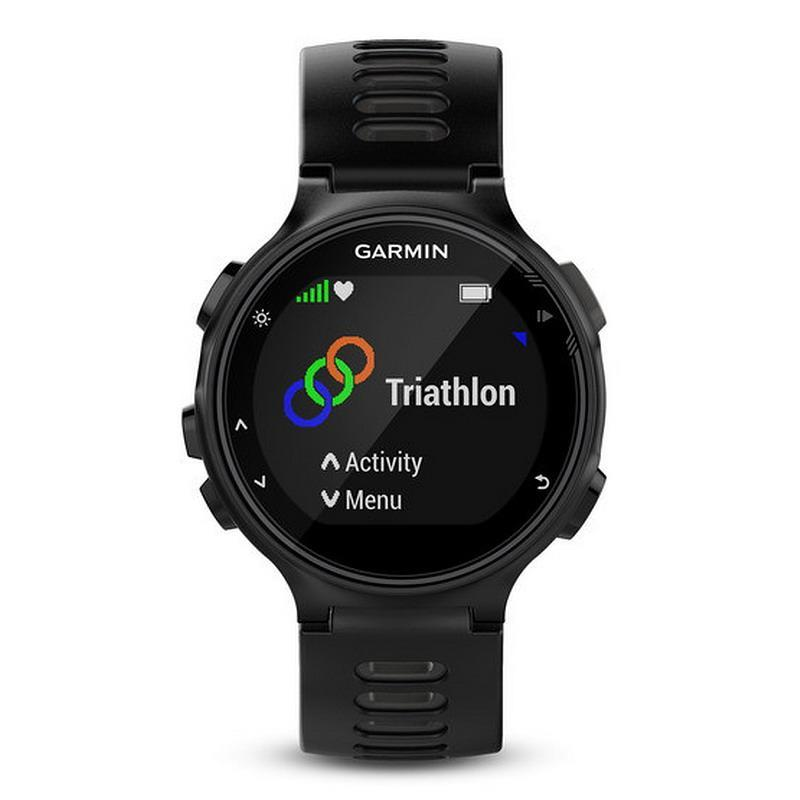 montre homme garmin 010 01614 06 forerunner 735xt multisport gps smartwatch. Black Bedroom Furniture Sets. Home Design Ideas