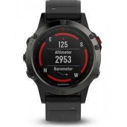 Montre Homme Garmin 010-01688-00 Fēnix 5 GPS Outdoor Smartwatch Multisport