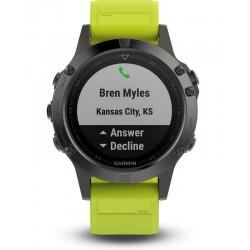 Montre Homme Garmin Fēnix 5 010-01688-02 GPS Smartwatch Multisport