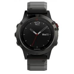 Acheter Montre Homme Garmin Fēnix 5 Sapphire 010-01688-21 GPS Smartwatch Multisport
