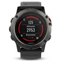 Montre Homme Garmin Fēnix 5X Sapphire 010-01733-01 GPS Smartwatch Multisport