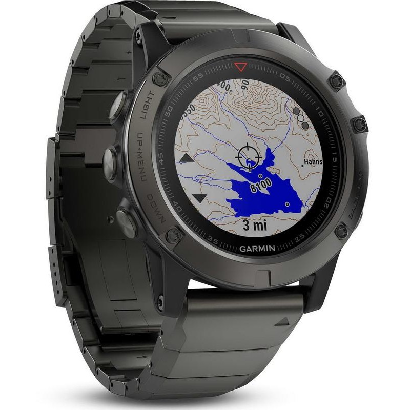 montre homme garmin f nix 5x sapphire 010 01733 03 gps outdoor smartwatch crivelli shopping. Black Bedroom Furniture Sets. Home Design Ideas