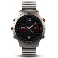 Montre Homme Garmin 010-01957-01 Fēnix Sapphire Chronos GPS Outdoor Smartwatch Multisport