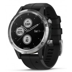 Acheter Montre Homme Garmin Fēnix 5 Plus Glass 010-01988-11 GPS Smartwatch Multisport