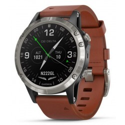 Acheter Montre Homme Garmin D2 Delta Sapphire Aviator 010-01988-31 Aviation GPS Smartwatch