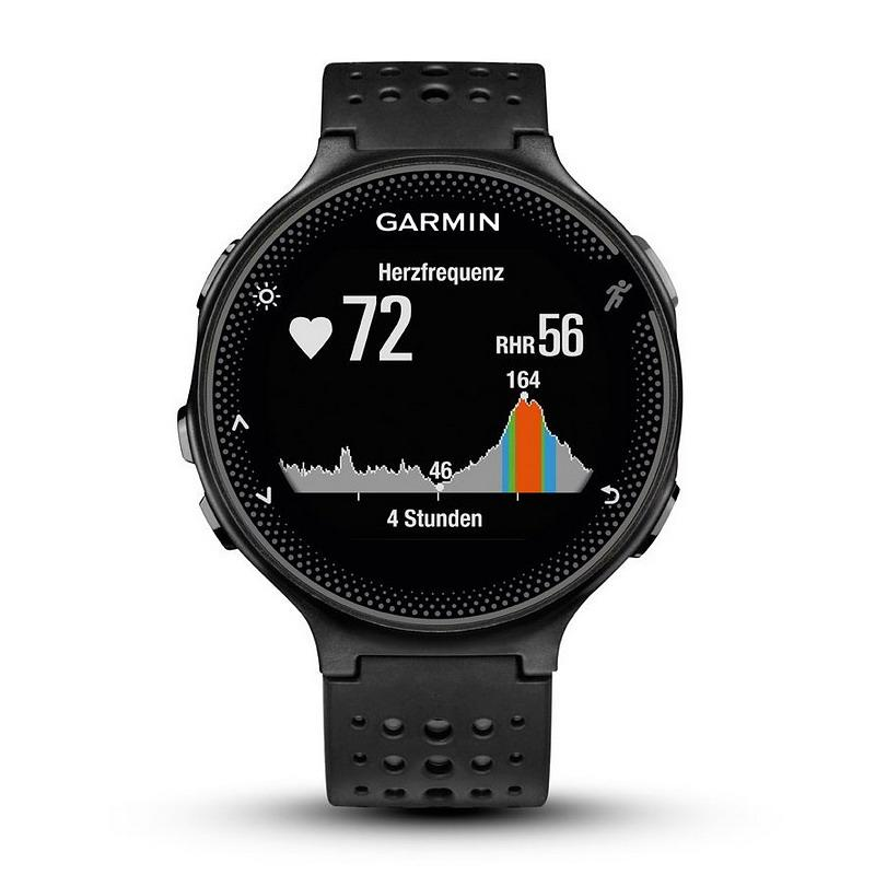 montre homme garmin forerunner 235 010 03717 55 running gps smartwatch crivelli shopping. Black Bedroom Furniture Sets. Home Design Ideas