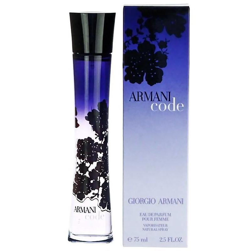 Ml Giorgio 75 Vapo Armani Eau Femme Edp Parfum Pour De Code PXZkui