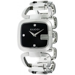 Acheter Montre Femme Gucci G-Gucci Medium YA125406 Diamants Quartz