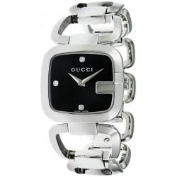 Acheter Montre Femme Gucci G-Gucci Small YA125406 Diamants Quartz