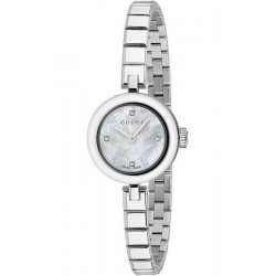 Acheter Montre Femme Gucci Diamantissima Small YA141503 Diamants Nacre Quartz