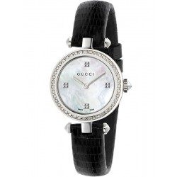 Acheter Montre Femme Gucci Diamantissima Small YA141507 Diamants Nacre Quartz