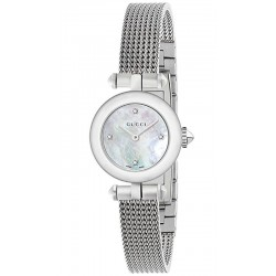 Acheter Montre Femme Gucci Diamantissima Small YA141512 Diamants Nacre