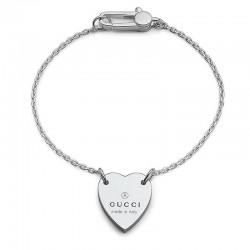 Acheter Bracelet Femme Gucci Trademark YBA223513001017 Cœur
