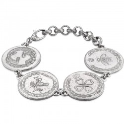 Acheter Bracelet Femme Gucci Coin YBA432179001018