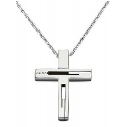 Acheter Collier Homme Gucci Silver YBB22836400100U Croix