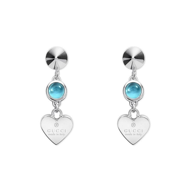 05dca0189 Boucles d'Oreilles Femme Gucci Trademark YBD32583700100U Cœur ...