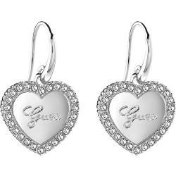 Acheter Boucles d'Oreilles Femme Guess UBE21510 Cœur