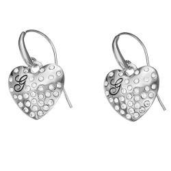 Acheter Boucles d'Oreilles Femme Guess UBE51433 Cœur