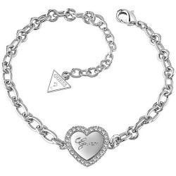 Acheter Bracelet Femme Guess Iconic UBB21516-S Cœur