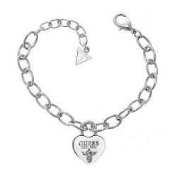 Acheter Bracelet Femme Guess Iconic UBB21567-S Cœur