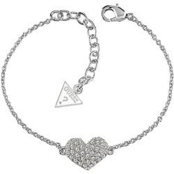 Acheter Bracelet Femme Guess Basic Instinct UBB51488 Cœur
