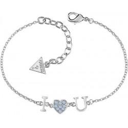 Acheter Bracelet Femme Guess Kiss & Love UBB61095-S