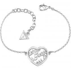 Acheter Bracelet Femme Guess Mania UBB61098-S Cœur