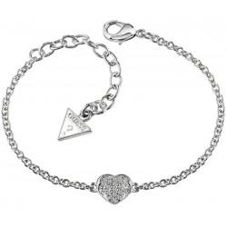 Acheter Bracelet Femme Guess Heartshelter UBB71518-S Cœur