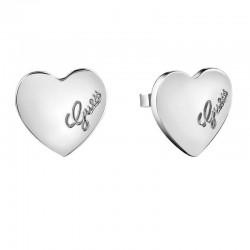 Acheter Boucles d'Oreilles Femme Guess UBE61053 Cœur