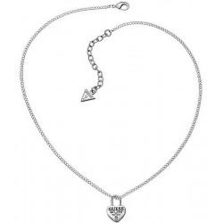 Acheter Collier Femme Guess Love Lock UBN51449 Cœur