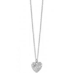 Acheter Collier Femme Guess Glossy Hearts UBN51471 Cœur