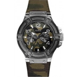 Acheter Montre Guess Homme Rigor W0407G1 Camouflage Multifonction
