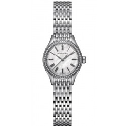 Acheter Montre Femme Hamilton Valiant Quartz H39211194 Diamants Nacre