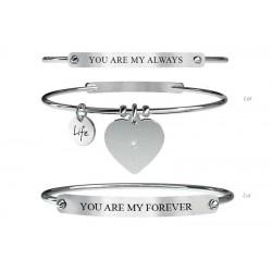 Acheter Bracelet Femme Kidult Love + Bracelet Homme 731054L