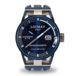Montre Homme Locman Montecristo Automatique 0511BLBLFWH0SIB