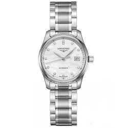 Acheter Montre Femme Longines Master Collection L22574876 Diamants Nacre Automatique