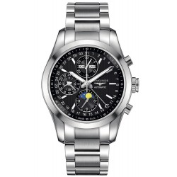 Acheter Montre Homme Longines Conquest Classic Chronograph Moonphase Automatic L27984526