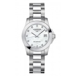Acheter Montre Femme Longines Conquest Classic L32774876 Diamants Nacre Quartz