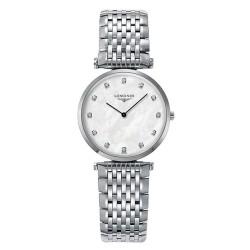 Acheter Montre Femme Longines La Grande Classique L45124876 Diamants Nacre
