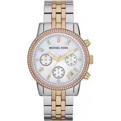 Montre Femme Michael Kors Ritz MK5650 Chronographe Nacre