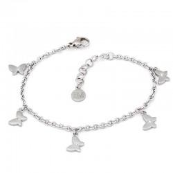 Bracelet Femme Morellato Insieme SAHM11 Papillon