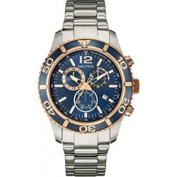 Montre Homme Nautica NST 09 NAI18500G Chronographe