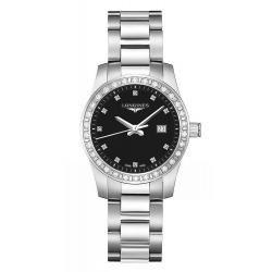 Acheter Montre Femme Longines Conquest L33000576 Diamants Quartz